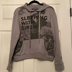 SLEEPING WITH SIRENS HOODIE SIZE LARGE